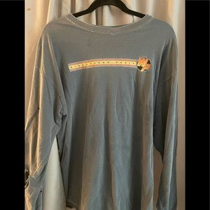 Vintage and well loved Widespread Panic tour tee